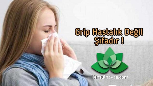 Grip Hastalık değil, Şifadır !